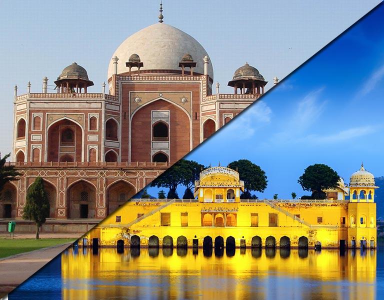 Delhi to Jaipur bus